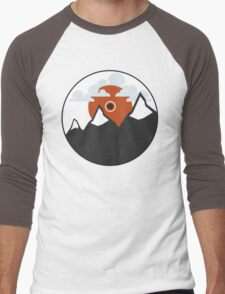 Minimal Sunrise Men's Baseball ¾ T-Shirt