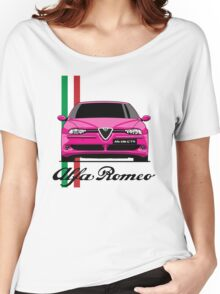 Alfa Romeo 156 GTA (pink) Women's Relaxed Fit T-Shirt