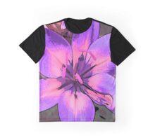 Photoshop lily mauve Graphic T-Shirt