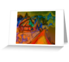 Colorful Abstract Art Laptop Skin Greeting Card
