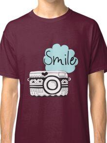 Vintage Retro Camera Smile Classic T-Shirt
