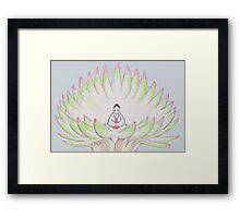 8 bit Kaguya Framed Print