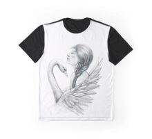 Woman and swan Graphic T-Shirt