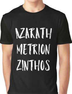 Azarath Metrion Zinthos Graphic T-Shirt