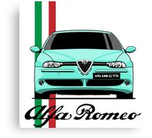 Alfa Romeo 156 GTA (mint) Canvas Print