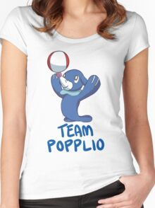 #TeamPopplio Women's Fitted Scoop T-Shirt