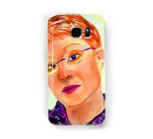 Cardboard Self Portrait Samsung Galaxy Case/Skin