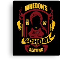School of Slaying Canvas Print