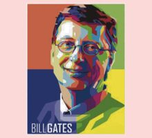 Bill Gates | PolygonART Baby Tee
