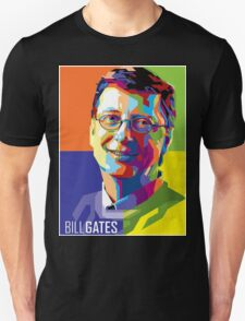 Bill Gates | PolygonART Unisex T-Shirt