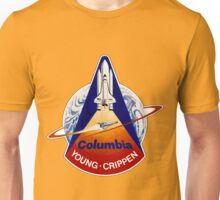 Space Shuttle Columbia (STS-1) Unisex T-Shirt