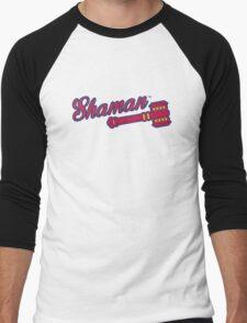 Shaman (alternate) - WoW Baseball Men's Baseball ¾ T-Shirt