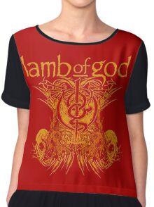 LAMB OF GOD TDM Chiffon Top