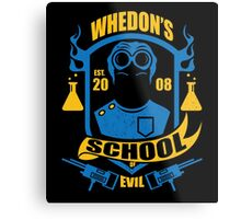 School of Evil Metal Print