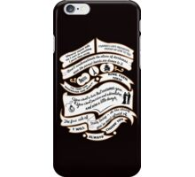 TVD Quotes. The Vampire Diaries. iPhone Case/Skin