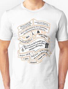TVD Quotes. The Vampire Diaries. Unisex T-Shirt