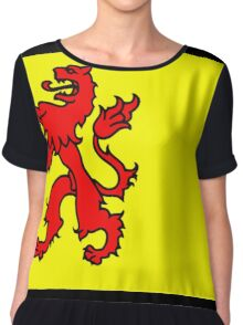 Flag of South Holland Chiffon Top
