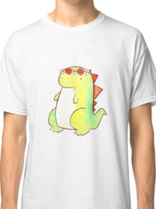 Flower Crown Watercolor Dino Classic T-Shirt