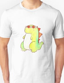 Flower Crown Watercolor Dino Unisex T-Shirt