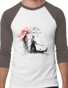 Japanese Samurai Men's Baseball ¾ T-Shirt