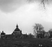 Swedish Scenes - Gripsholm Castle 2 Sticker