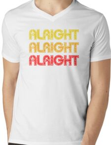 Dazed And Confused - Alright Alright Alright Mens V-Neck T-Shirt