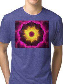 Pink Iris Tri-blend T-Shirt