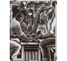 Dan Rico - Noon Game - Art from the Federal Art Project iPad Case/Skin
