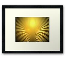 Mars Angel Framed Print