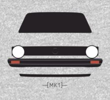 MK1 simple front end design One Piece - Long Sleeve