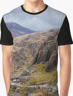 Snowdonia, Wales Trail Graphic T-Shirt