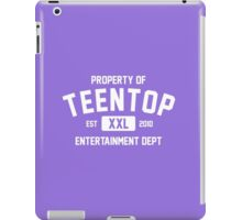 Property of Teen Top (White Ver) iPad Case/Skin