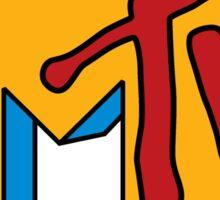 MTV Logo - Original Colors Sticker
