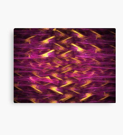 Violet Braids Canvas Print