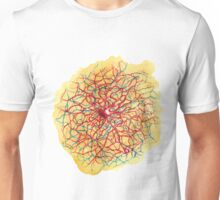 Tangled neuron watercolor Unisex T-Shirt