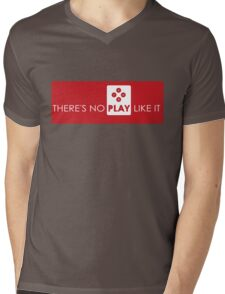 There's No Play Like It Mens V-Neck T-Shirt