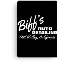 Back To The Future - Biff's Auto Detailing Canvas Print