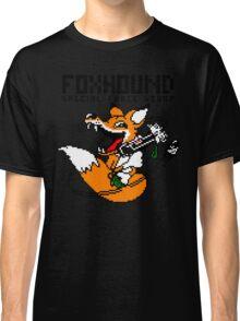 FOXHOUND PIXELART FOX BLACK Classic T-Shirt
