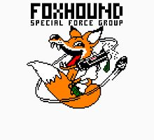FOXHOUND PIXELART FOX BLACK Unisex T-Shirt