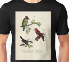 Bilder atlas zur Wissenschaftlich populären Naturgeschichte der Vögel in ihren sämmtlichen Hauptformen Leopold Joseph Fitzinger 1864 030 Unisex T-Shirt