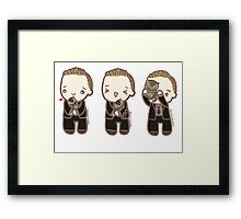 Tom Hiddleston and the baby leopard Framed Print