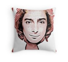 barry manilow Throw Pillow