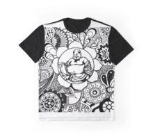Doodle Buddha Graphic T-Shirt