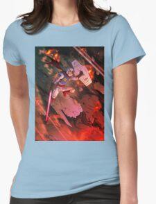 kr gundam Womens Fitted T-Shirt