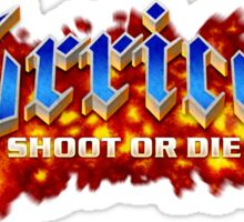 TURRICAN SHOOT OR DIE Sticker