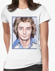 barry manilow Womens Fitted T-Shirt