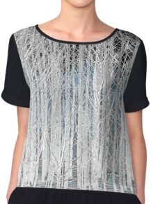 Enchanted Forest large format Chiffon Top