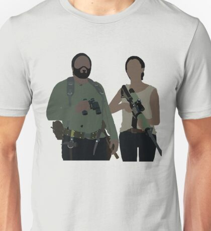 Sasha and Tyreese - The Walking Dead Unisex T-Shirt
