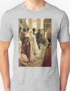 Vintage famous art - James Tissot - The Woman Of Fashion Unisex T-Shirt