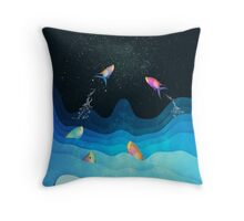 Come to reach the stars Throw Pillow